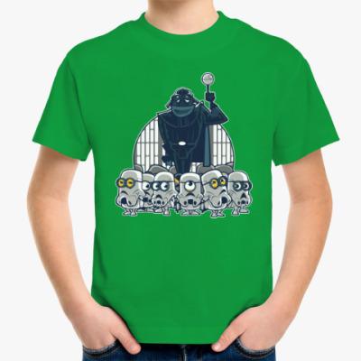 Детская футболка Darth Vader & Minions