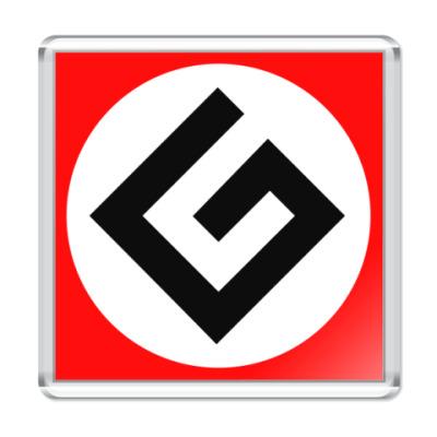 Магнит Граммарнацистский магнит