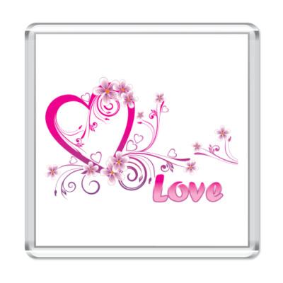 Магнит Любовь