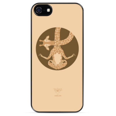 Чехол для iPhone Animal Zen: G is for Giraffe