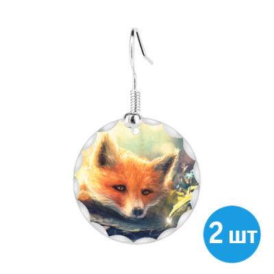 Серьги Серьги Fox