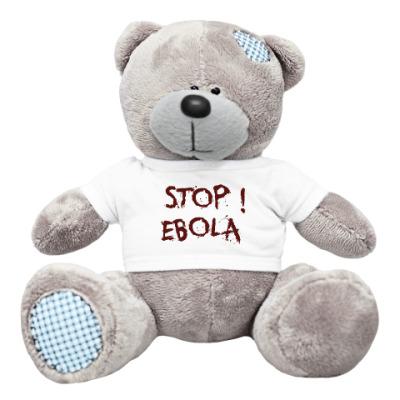 Плюшевый мишка Тедди Stop Ebola