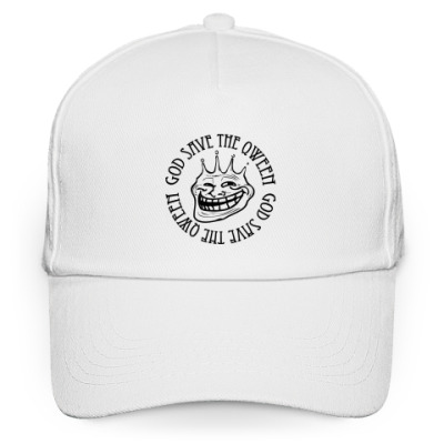 Кепка бейсболка Trollface Save the Qween
