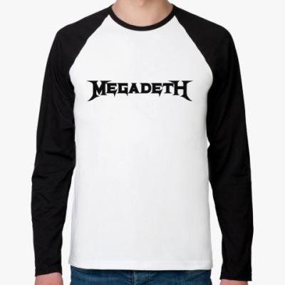 Футболка реглан с длинным рукавом Megadeth