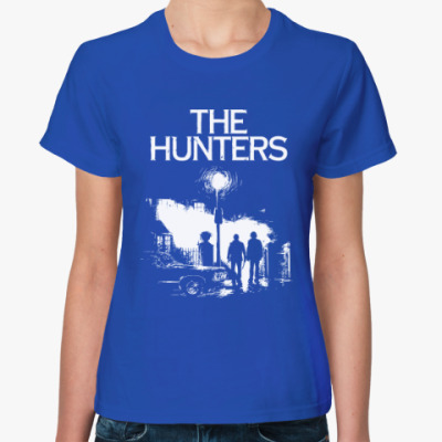 Женская футболка The Hunters