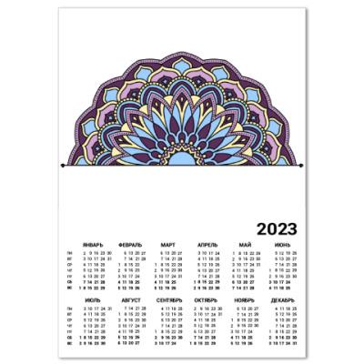 Календарь орнамент