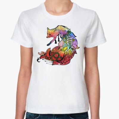 Классическая футболка Nocturnal Fox