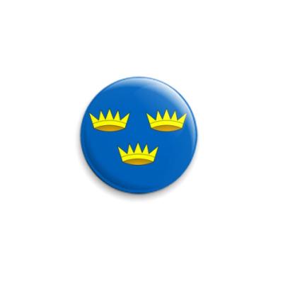 Значок 25мм  'Флаг Манстера'