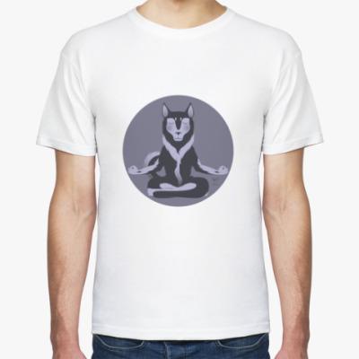 Футболка Animal Zen: H is for Husky