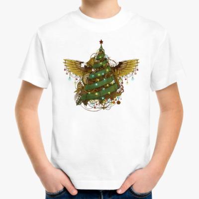 Детская футболка Стимпанк ёлочка