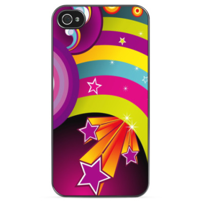 Чехол для iPhone Magic Rainbow