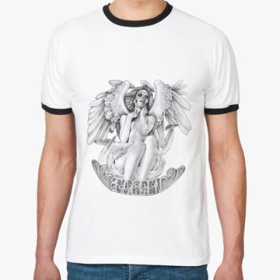 Футболка Ringer-T Fallen Angel