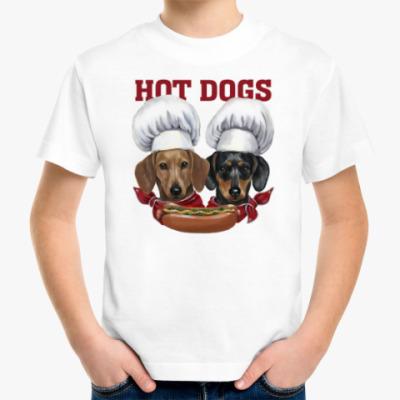 Детская футболка  'Hot Dogs'