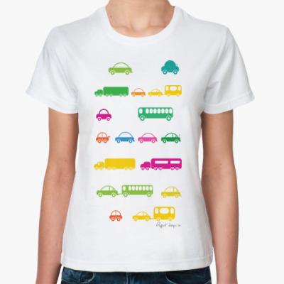 Классическая футболка CAR