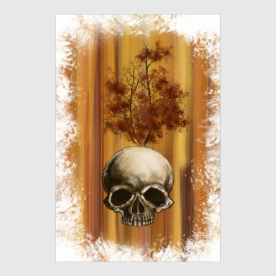 Постер Autumn scull