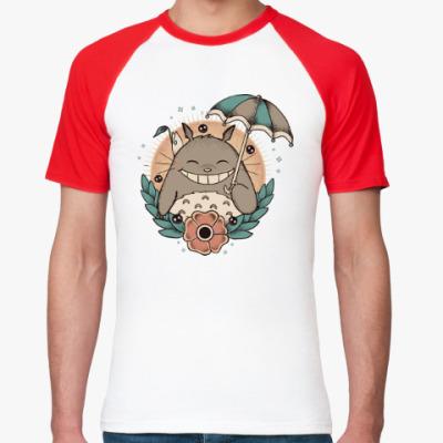 Футболка реглан Smile Totoro