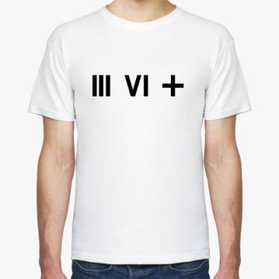 Футболка  (III VI +)