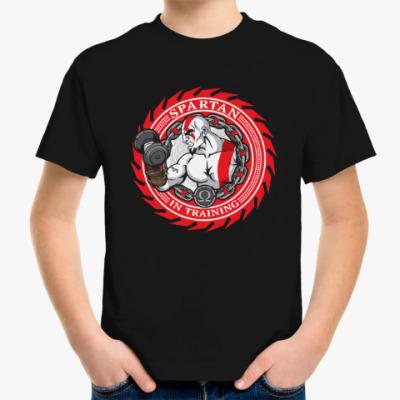 Детская футболка Спартанцы тренируются