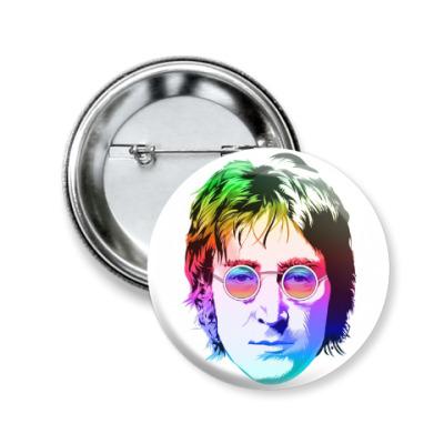 Значок 50мм John Lennon