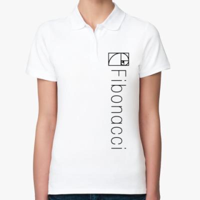 Женская рубашка поло Fibonacci