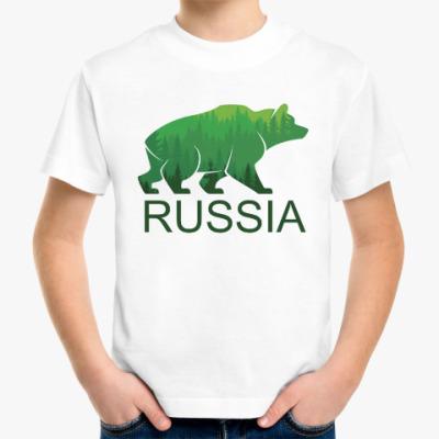 Детская футболка Россия, Russia