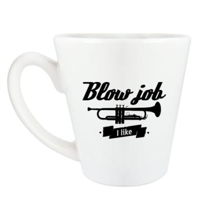 Чашка Латте 'Blow job I like'