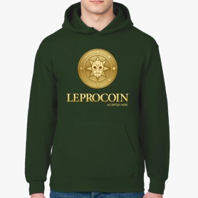 Толстовка худи Leprocoin