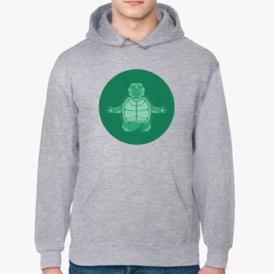 Толстовка худи Animal Zen: T is for Turtle
