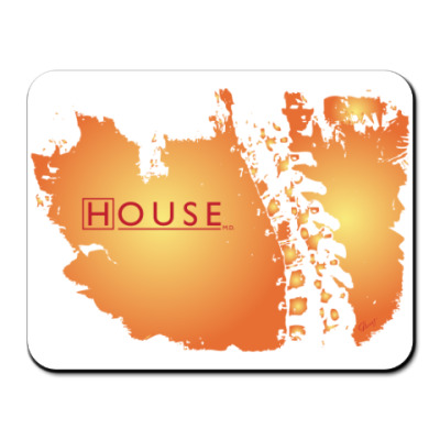 "Коврик для мыши Коврик д/мыши HOUSE ""orange"""