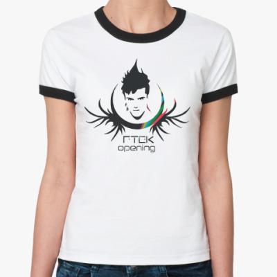 Женская футболка Ringer-T   RTEK