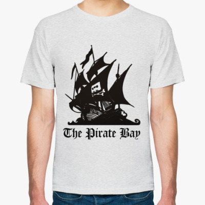 Футболка  пират the pirate bay