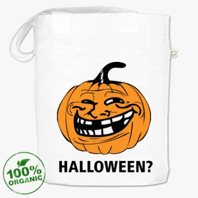 Сумка  Trollface. Halloween?