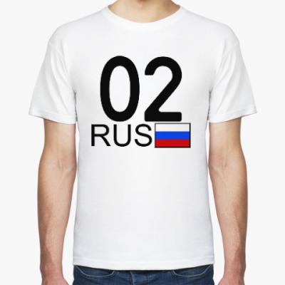 Футболка 02 RUS (A777AA)