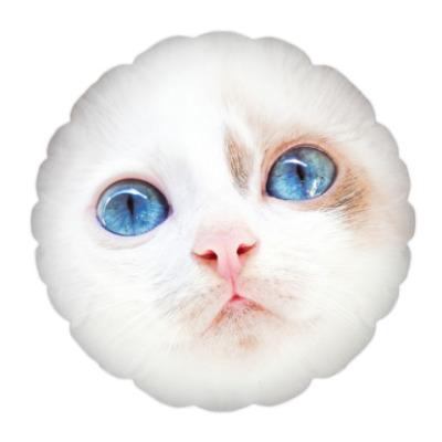 Подушка Няшный котенок