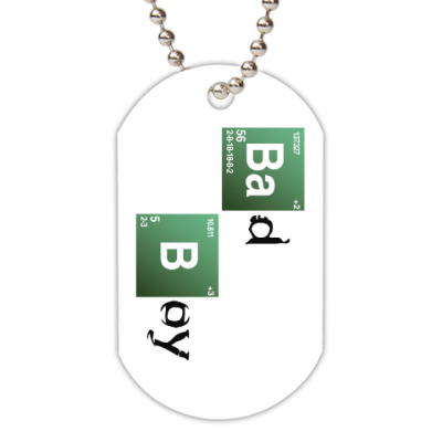 Жетон dog-tag Bad Boy
