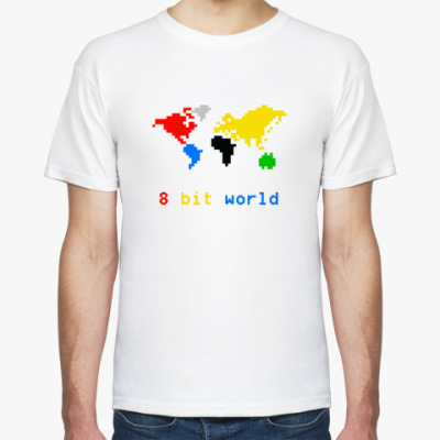 Футболка 8 bit world