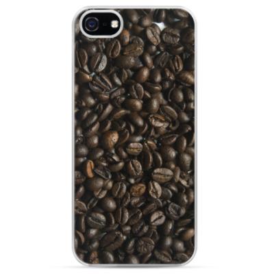 Чехол для iPhone Зерна кофе / Coffee