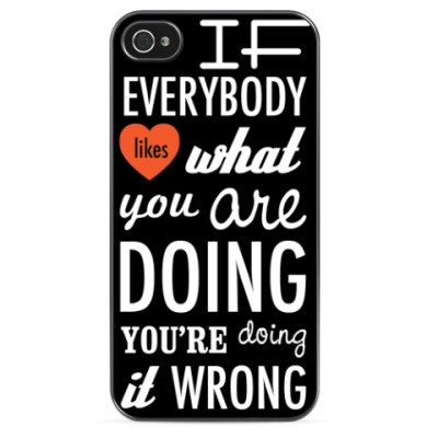 Чехол для iPhone 'Wrong'