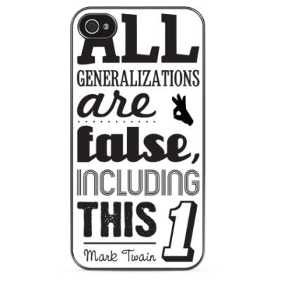 Чехол для iPhone 'Mark Twain'