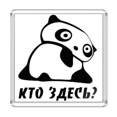 Магнит  панда