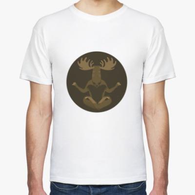 Футболка Animal Zen: M is for Moose