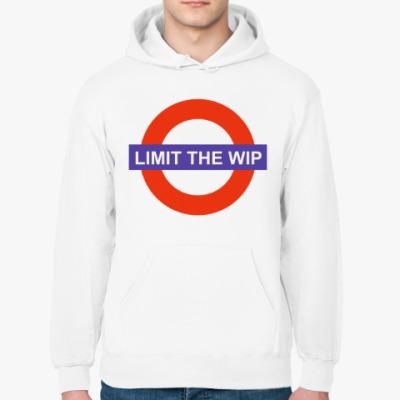 Толстовка худи Limit The WIP