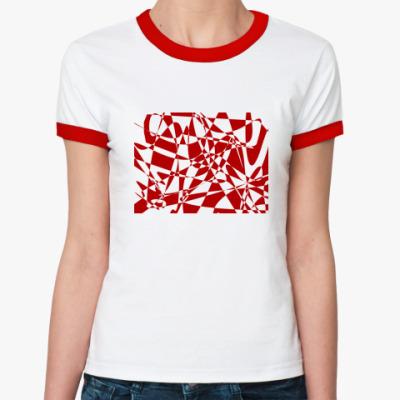 Женская футболка Ringer-T Микс