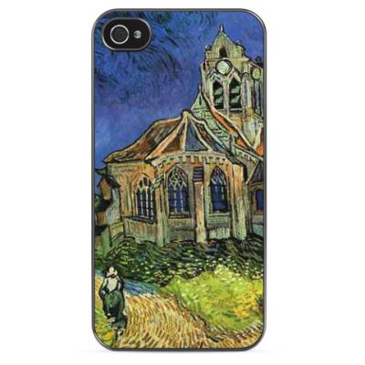 Чехол для iPhone Винсент Ван Гог 'Церковь в Овере'