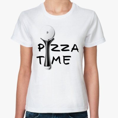 Классическая футболка Pizza Time