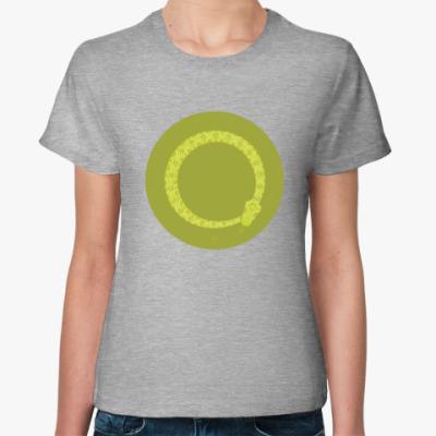 Женская футболка Animal Zen: V is for Viper