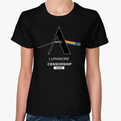 Женская футболка Цензурный тур 2016