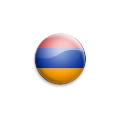 Значок 25мм  25 мм, флаг