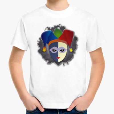 Детская футболка Чёрный Паяц