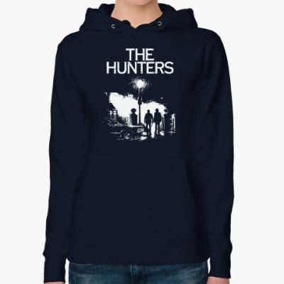 Женская толстовка худи The Hunters